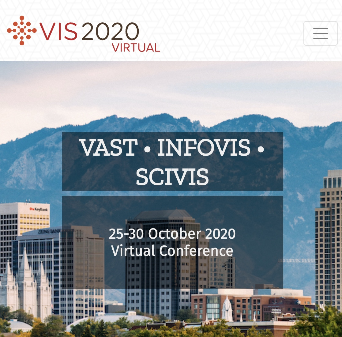 Virtual IEEE VIS 2020 -- Conference on Visualization.